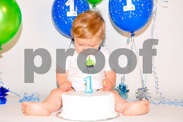 Jonathan's First Birthday