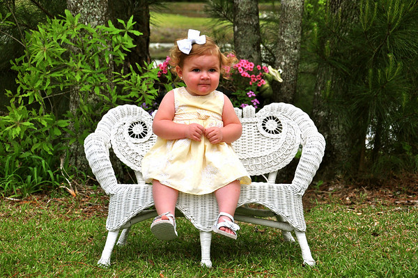 Mila's Spring Pictures